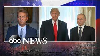 Sen. Jeff Flake speaks out on Trump-Putin news conference