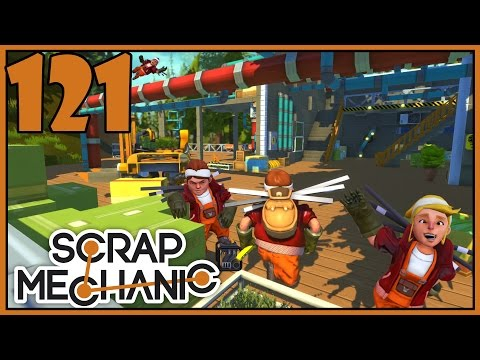 Trailer Hook - Scrap Mechanic Gameplay - Part 121 [Let's Play Scrap Mechanic]