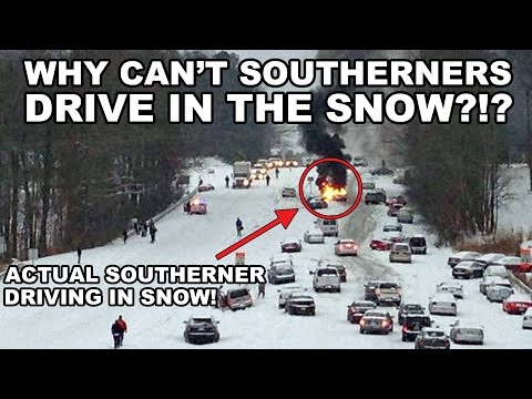 Why Can't Southerners Drive in the Snow? It's Science!