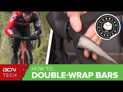 How To Double-Wrap Handlebar Tape | Set Up Your Road Bike For Cobbles