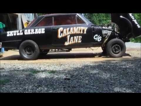 HELPING BUILD A GASSER WITH SKULL GARAGE , YOU CAN TOO !!!