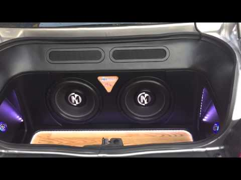 Custom Trunk build in a 2013 Dodge Challenger