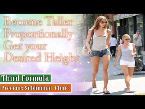 Grow Taller to Your Desired Height - 3rd Formula  [Affirmation+Frequency] - INSTANT RESULTS