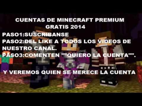 (Concurso Anterior Terminado) #1 Terminado Minecraft Premium Gratis