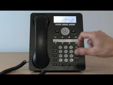 12. Avaya Telephone System - Using the Call Log History on the 1408