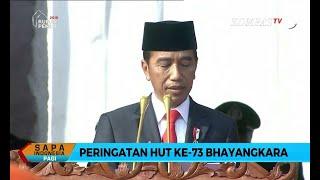 Full - Amanat Presiden Joko Widodo di Hari Bhayangkara