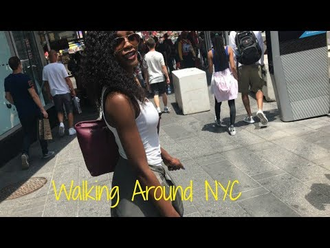 LAST DAY IN NYC VLOG: Timesquare, Jamaica Ave. etc...