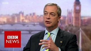 Nigel Farage on High Court Article 50 ruling - BBC News