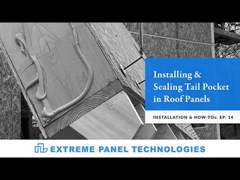 Episode: 14- Installing And Sealing Tail Pocket Material In Roof Panels