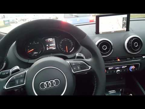 Audi RS3 2015 sport exhaust..crackle and pop
