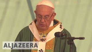 Myanmar mass: Pope urges minorities to resist 'revenge'