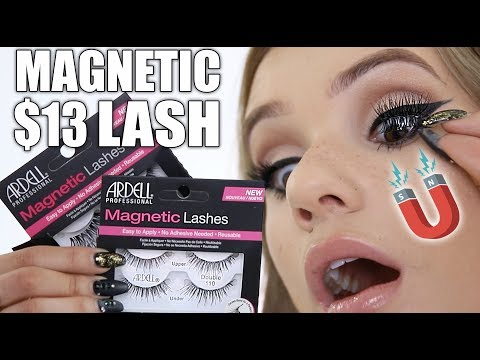 Trying MAGNETIC Drugstore Lashes (Magnetic Makeup Experiment)