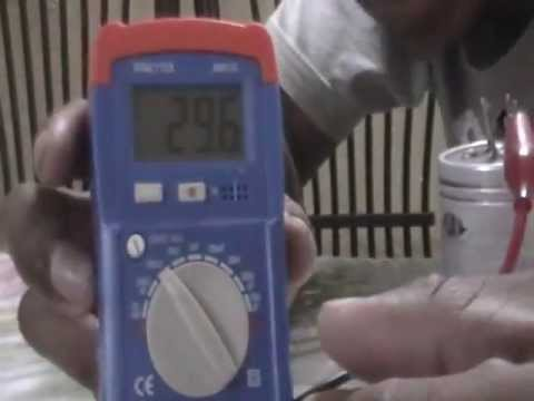 How to test a run capacitor
