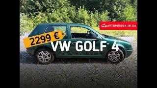 """В НАЛИЧИИ! Vw Golf 4 2002 74 Kwt 1.9 Tdi МКПП за 2299 € """"под ключ""""! / Avtoprigon.in.ua"""