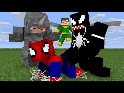 Noob Spiderman Life - Minecraft Animation