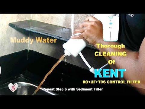 KENT RO Cleaning DIY (pipe cleaning incl.)