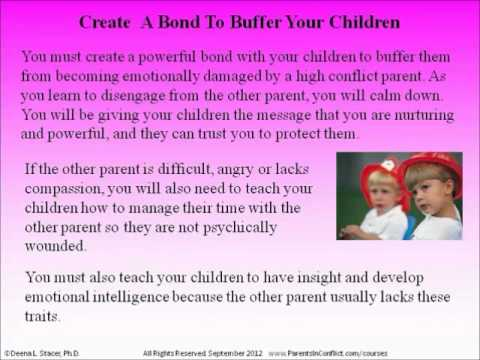 How to Coparent with a Difficult Parent