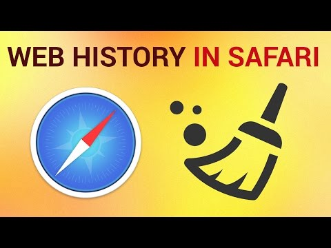 How to delete Browsing History on Safari