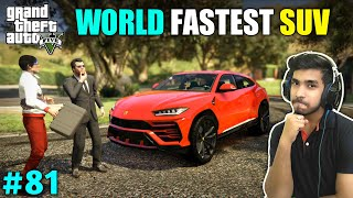 DELIVERY OF THE NEW LAMBORGHINI URUS | GTA V GAMEPLAY #81