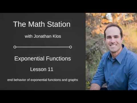 Exponential Functions Lesson 11   End Behavior