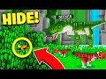 WORLDS BEST HIDER?... | JURASSIC WORLD HIDE & SEEK! - Minecraft Mods