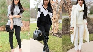 3 Winter Outfits! Sweater Weather!
