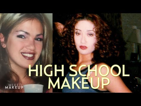 Our 90s Makeup Looks from High School! | The SASS with Susan and Sharzad