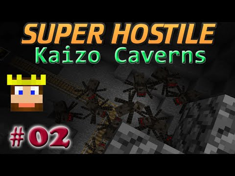 Super Hostile - Kaizo Caverns: Ep 02 - That's a Bad Place