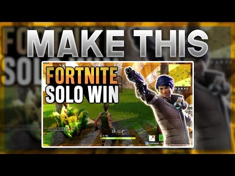 How To Make a Professional Fortnite Thumbnail With Paint.net (NO PHOTOSHOP REQUIRED AND FREE)