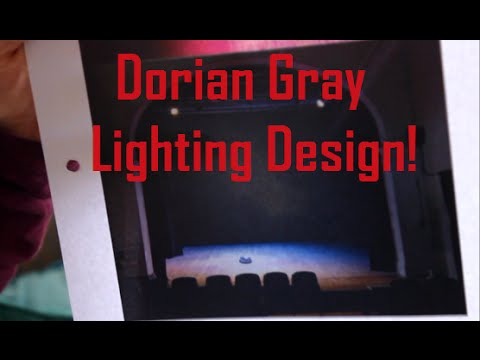 Doppelganger Productions: Dorian Gray - Lighting designs with Marie and Maria!