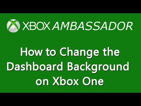 How to change your dashboard background image on Xbox One | Xbox Ambassador Series