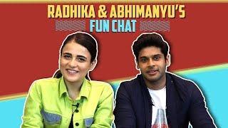 Radhika Madan And Abhimanyu Dassani's Fun Interview Post Mard Ko Dard Nahi Hota