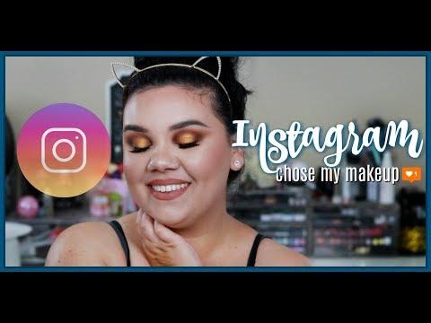 Instagram Chose My Makeup!