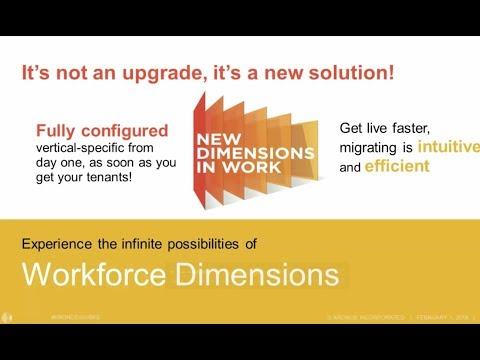Power Moves: Migrating to Workforce Dimensions™
