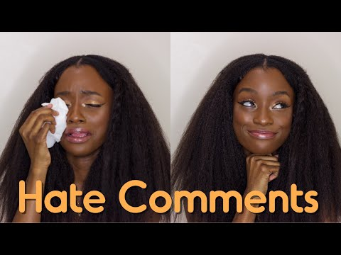 HATE COMMENTS ABOUT MY 4C NATURAL HAIR  & SPREADING NEGATIVITY
