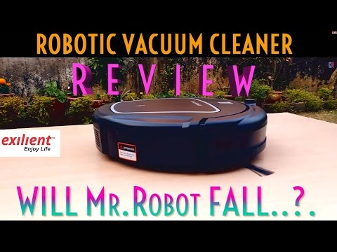 ROBOTIC Vacuum Cleaner ReadyMaid by Exilient UnboXing & Full REVIEW