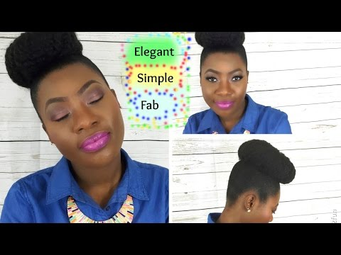 How to do High Puff // Protective Style //Hair Inspiration for Natural and Relaxed Hair
