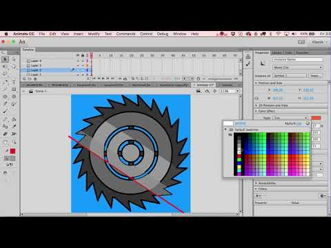 How to Draw a Shredding Wheel for a Video Game