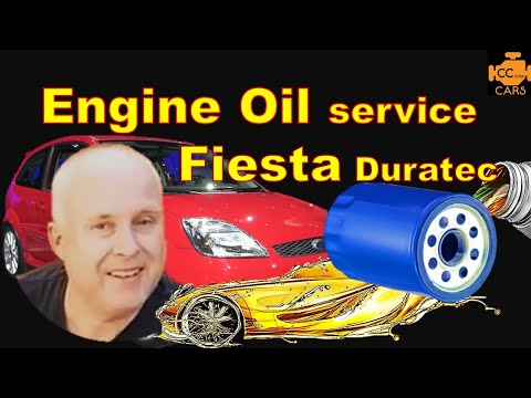 Ford Fiesta Oil Change & Filter Change How to