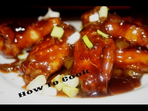 HOW TO MAKE JAMAICAN BROWN STEW HONEY BARBEQUE WINGS RECIPE JAMAICAN ACCENT 2016