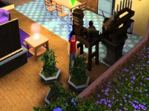 The Sims 3 Supernatural - Little Girl Garden Glitch