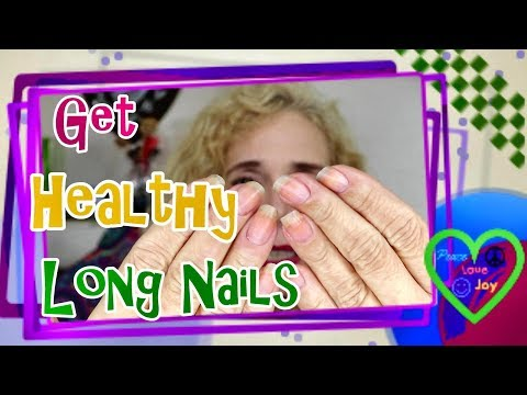 Solution for Dry Brittle Nails and How to Make them Healthy and Long