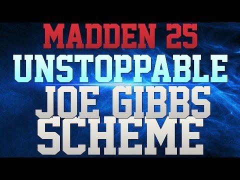 MADDEN 25 - LEGENDARY JOE GIBBS SCHEME!!!! - UNSTOPPABLE OFFENSE!!!! -