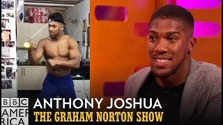 Anthony Joshua Basically Trains Using A Human Cat Toy - The Graham Norton Show