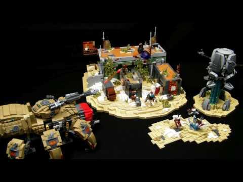 The Divide with Fallen Walker (LEGO MOC) - Destiny