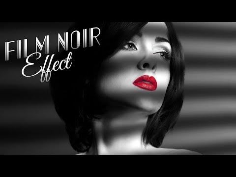 Photoshop: How to Create a Classic, Film Noir Portrait - Plus GIVEAWAY!!!