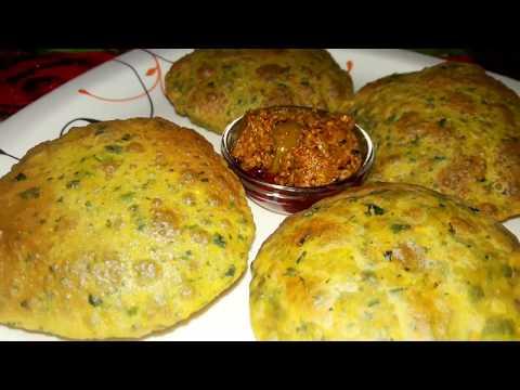 spicy methi poori|मसालेदार मेथी की पुड़िया चाहे बच्चो का टिफ़िन हो या दूर का सफर बनाये स्वादिष्ट पूरी