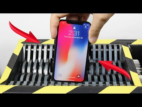 Xxx Mp4 Experiment Shredding Apple Iphone X And Toys So Satisfying The Crusher 3gp Sex