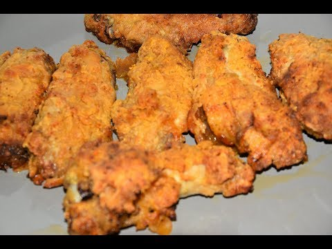 Extra Crispy Air Fryer Chicken Wings - Air Fried Chicken Wings - Actifry Air Fryer