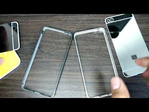 REVIEW Aluminium Bumper Case with Mirror Back Cover Xiaomi Mi5s